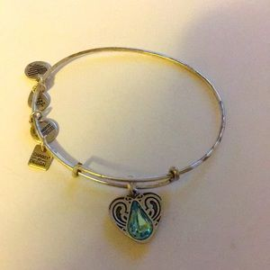 Alex and Ani living water heart bracelet